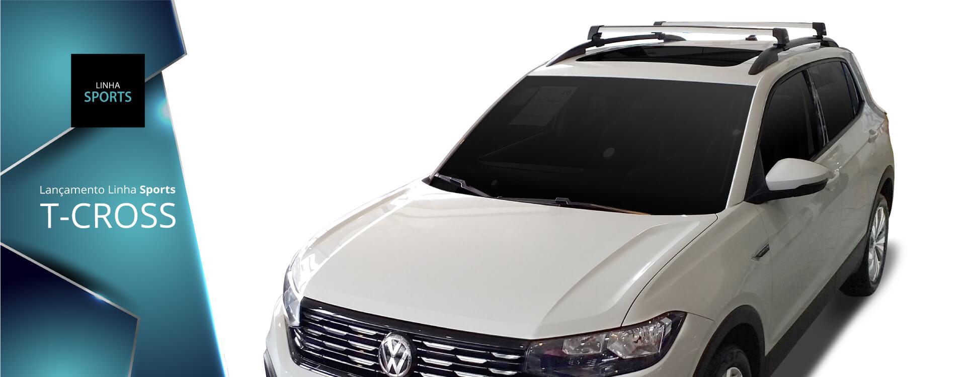 Rack Lançamento linha sports para o modelo de carro T-Cross